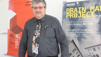 Organisator Lukas Walter freut sich auf die Jubiläumsausgabe der Grenchner Wohntage.