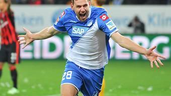 Hoffenheims Adam Szalai traf zum zwischenzeitlichen 2:1