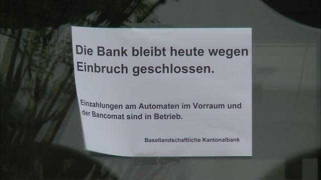 Misslungener Banküberfall