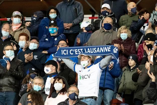 In Lausanne kommen deutlich weniger Fans als erlaubt.
