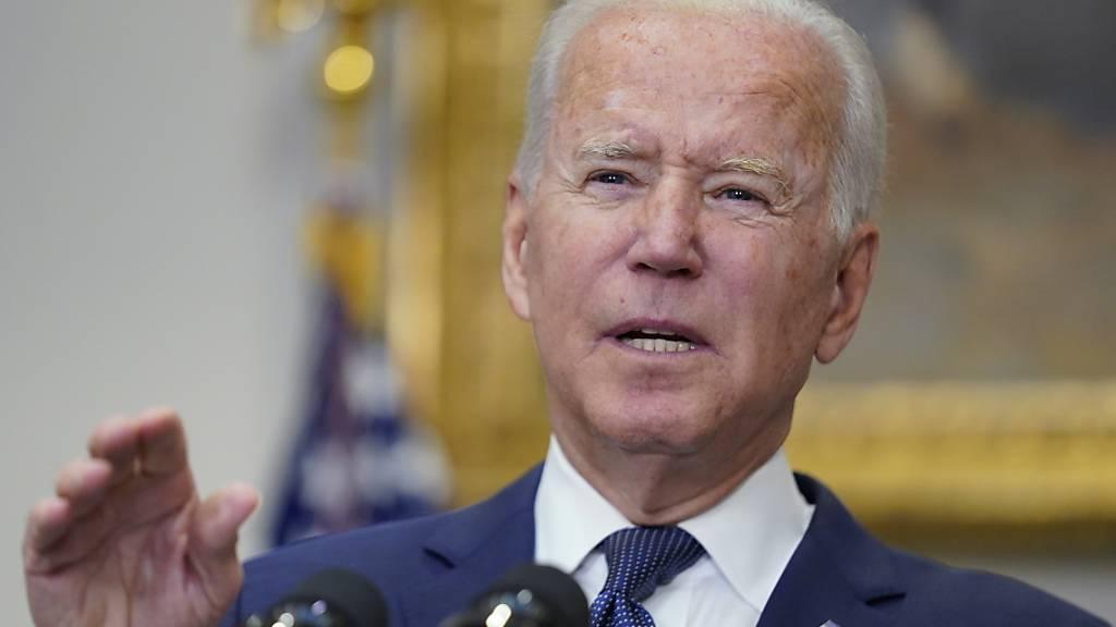 Biden besucht verwundete US-Soldaten im Militärkrankenhaus