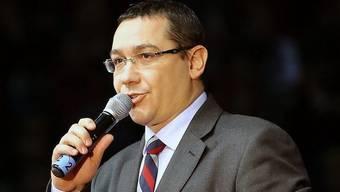 Als Sieger gesehen: Der rumänische Ministerpräsident Victor Ponta und seine USL (Archiv)