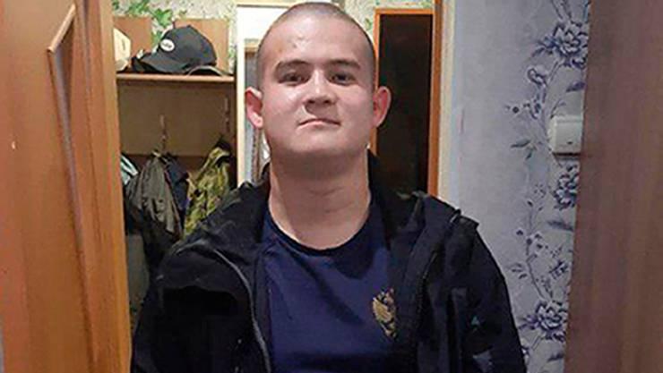 Der Soldat Ramil Schamsutdinow hat acht Menschen getötet.