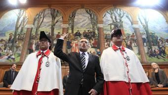 Pirmin Bischof wird als Ständerat vereidigt