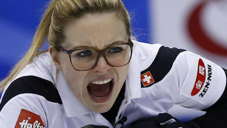 Alina Pätz wird es auf der vierten Position des Schweizer Teams nicht langweilig