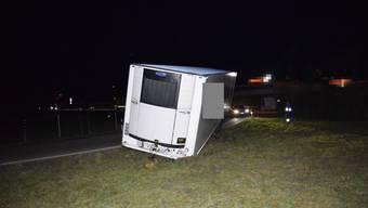 Unfall A2 Egerkingen