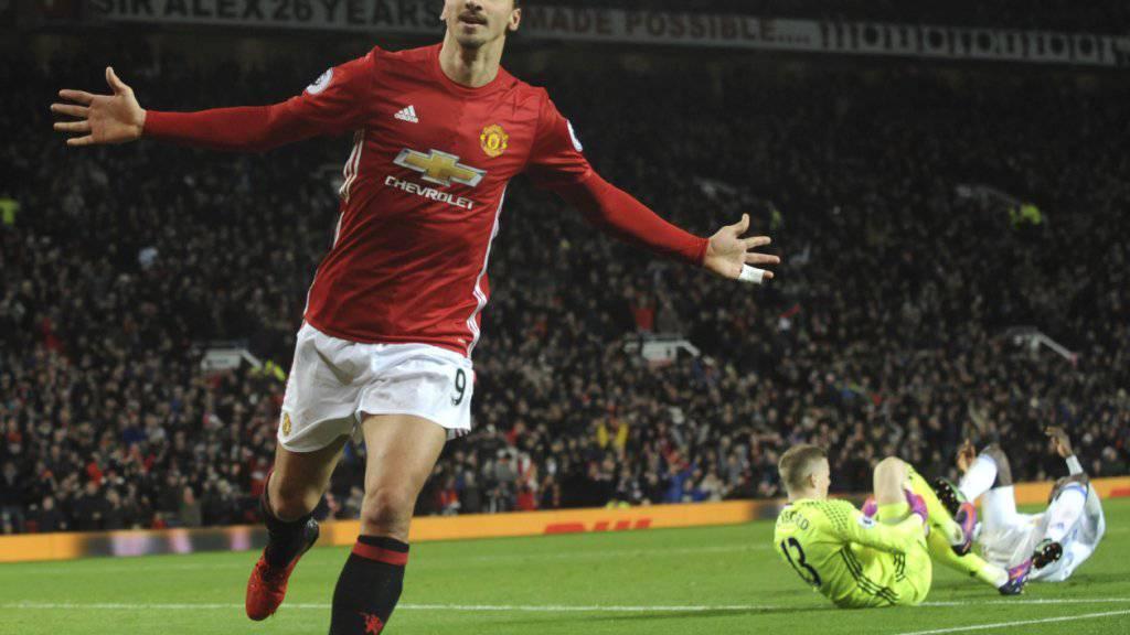 Zlatan Ibrahimovic steht bei Manchester United vor seinem Comeback.