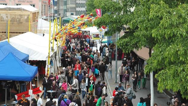 80000 bis 100000 Besucher konnten am Brugger Stadtfest begrüsst werden.
