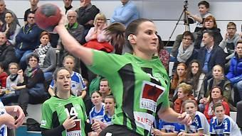 Ivana Ravlic führte die Oltnerinnen mit 9 Toren zum 37:27-Heimsieg.