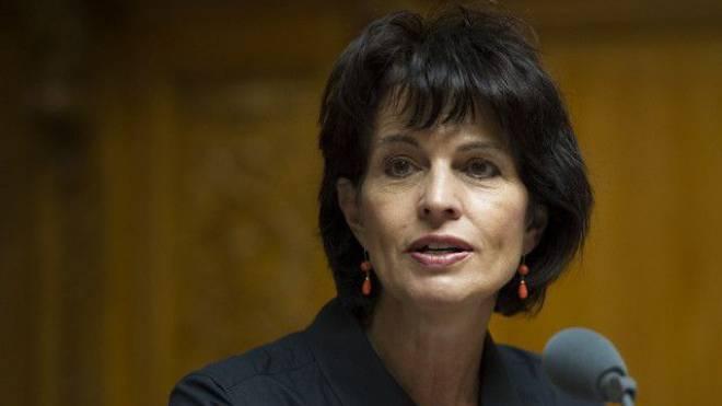Doris Leuthard - Die CVP-Bundesrätin will den Ressourcenverbrauch der Schweiz senken. Das stösst aber auf Kritik – auch in der eigenen Partei.