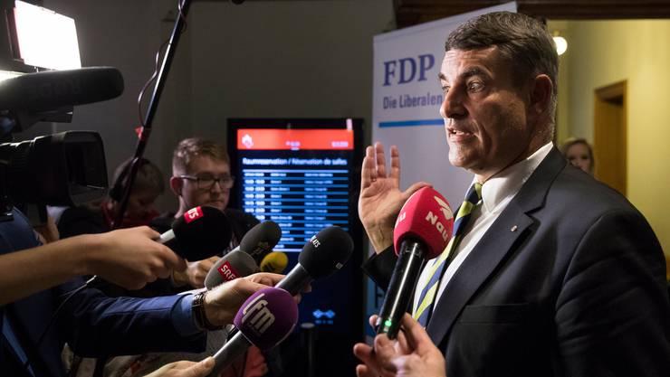Muss sich von der Untersuchungskommission seines Kantons Schaffhausen einige Kritik anhören: Christian Amsler, Ex-FDP-Bundesratskandidat.