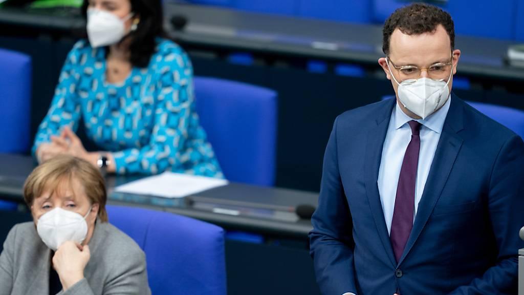 Deutscher Gesundheitsminister verteidigt Impfstrategie