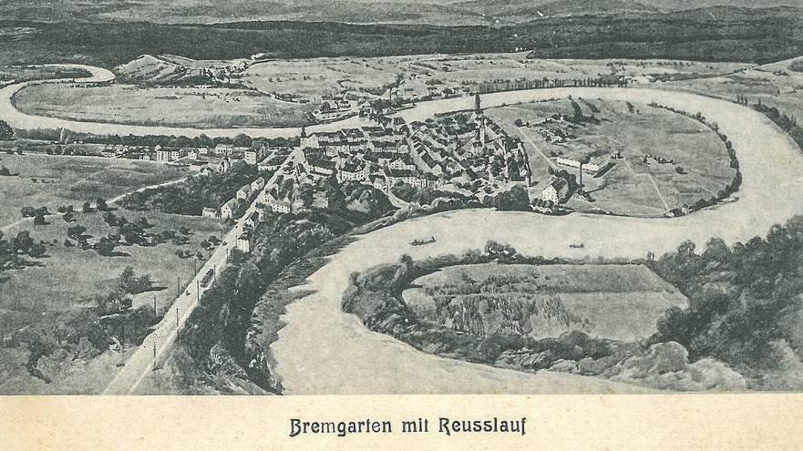 Historische Postkarten aus dem Aargau