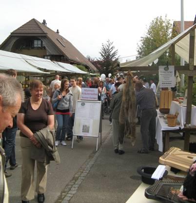 Das letzte Dorffest zog viele Besucher an.