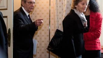 Italiens Finanzminister Padoan und Widmer-Schlumpf in Mailand