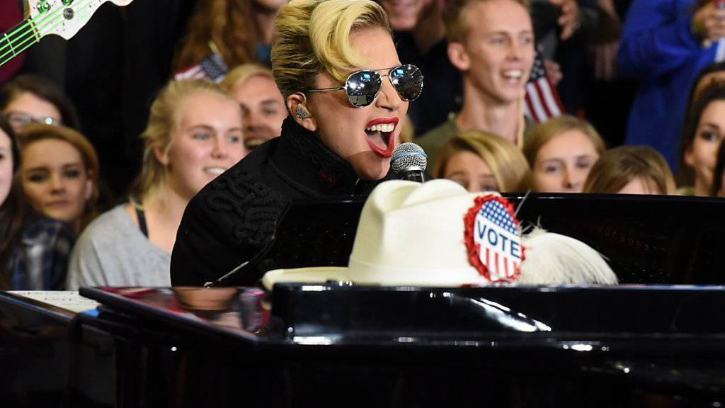 US-Popdiva Lady Gaga überrascht mit ihrem Image-Wandel. (Archivbild)