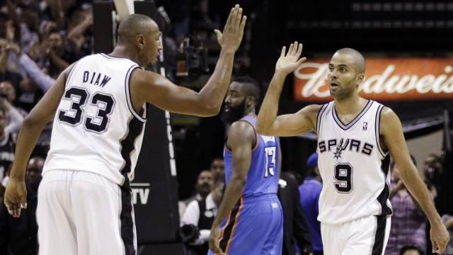 Die San Antonio Spurs sind derzeit nicht zu stoppen