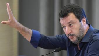 Am Treffen soll auch Gianluca Savoini, ein enger Vertrauter des italienischen Innenministers Matteo Salvini (Bild) teilgenommen haben.