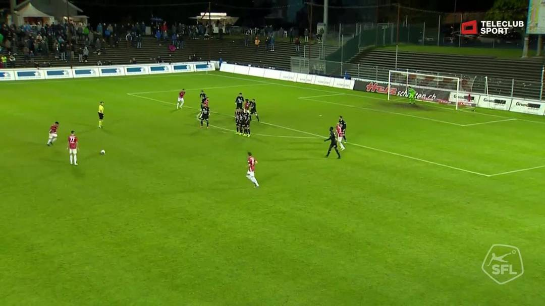 Challenge League: FC Aarau - FC Stade Lausanne-Ouchy, 86. Minute