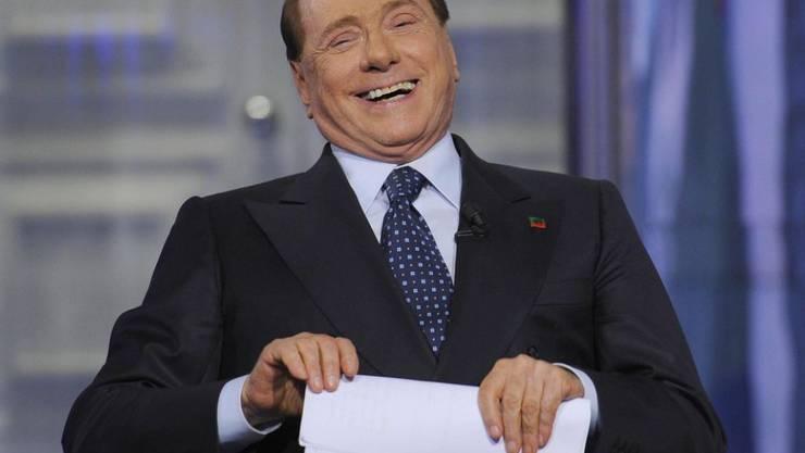 Silvio Berlusconi soll in der Affäre Ruby vor sieben Gerichten erscheinen. (Archivbild)