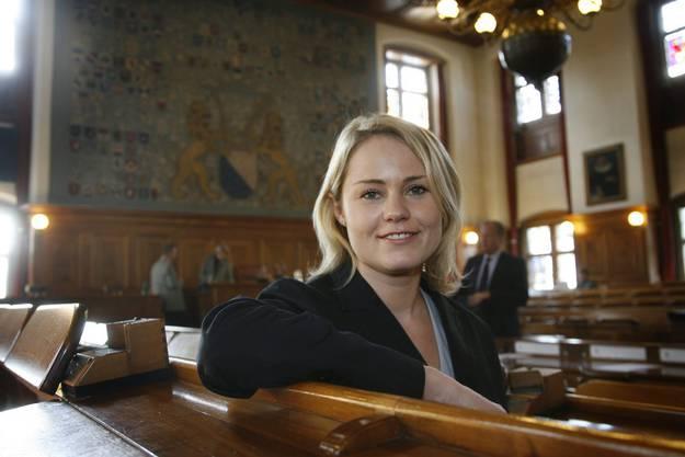Nach fünf Jahren im Parlament der Stadt Winterthur wechselt sie 2007 in den Zürcher Kantonsrat. Dort bleibt sie nur sechs Monate…