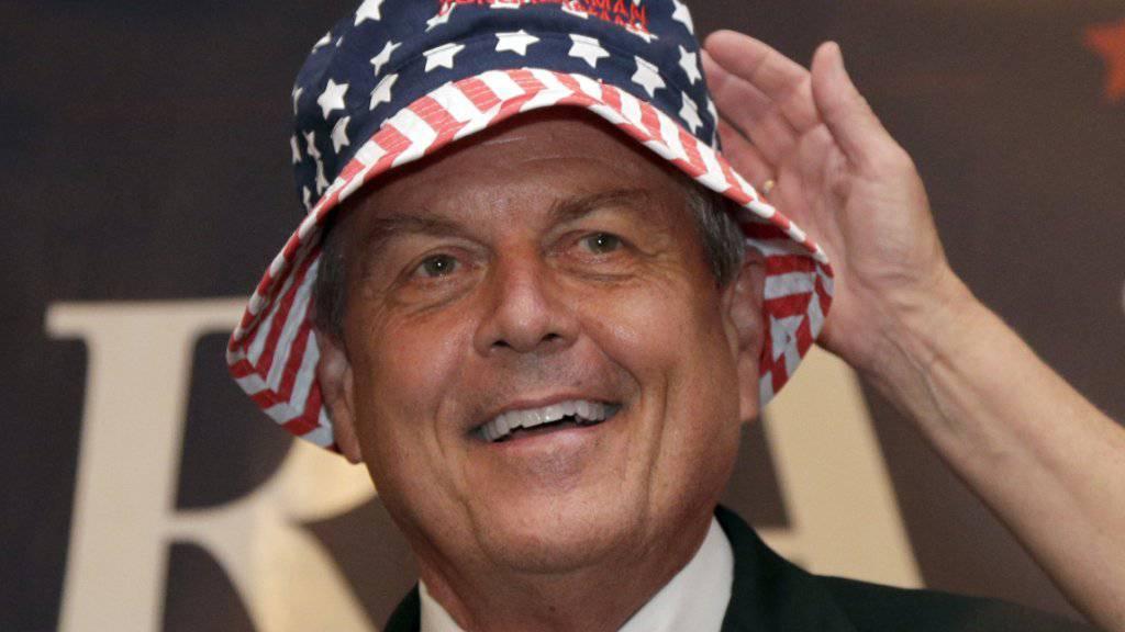 Der Republikaner Ralph Norman vertritt South Carolina im US-Kongress - so wollen es die Wähler bei einer Nachwahl.
