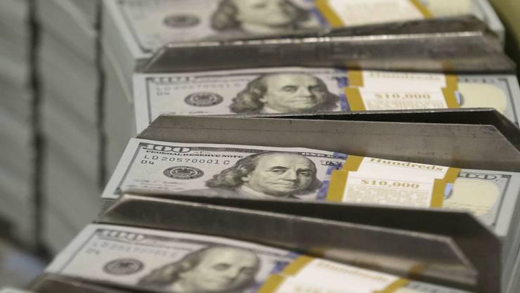 Grosse US-Konzerne wie Apple haben Geldberge im Ausland angehäuft. Gut 250 Milliarden sollen es allein bei Apple sein. Zumindest ein Teil davon könnte durch die neue Steuerreform in die USA zurückfliessen. (Archiv)