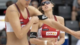 Nina Betschart (rechts) und Tanja Hüberli verloren überraschend