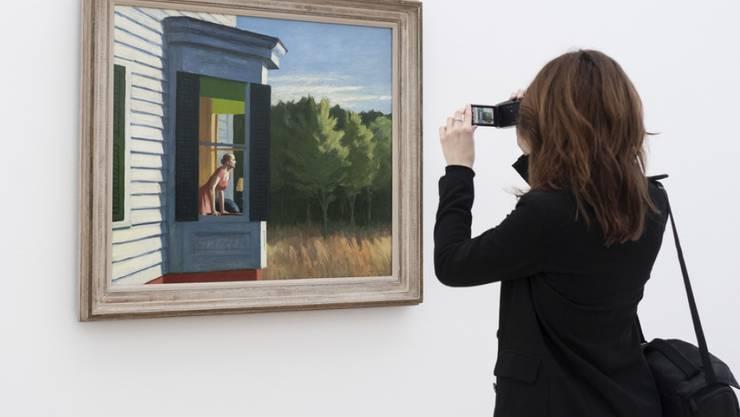 """Nach der Corona-Zwangspause nimmt die Fondation Beyeler am 11. Mai ihren Betrieb wieder auf - und verlängert unter anderem die beliebte """"Edward Hopper""""-Ausstellung."""