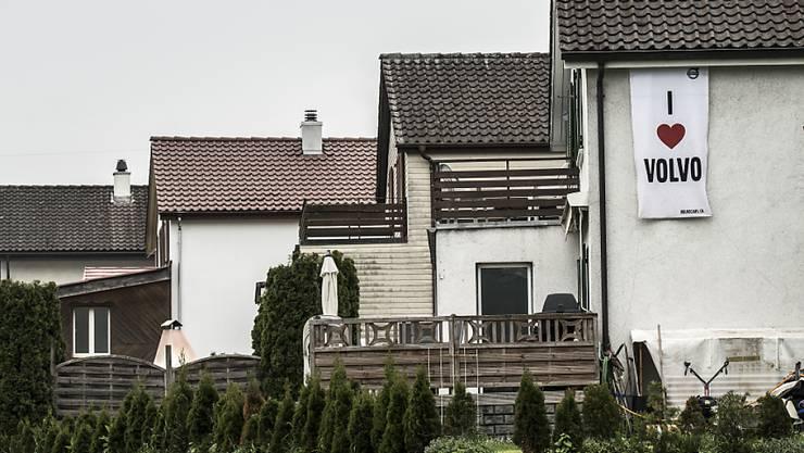 Einfamilienhäuser in Endingen AG: Die tiefen Zinsen machen den Erwerb von Wohneigentum attraktiv (Archiv)