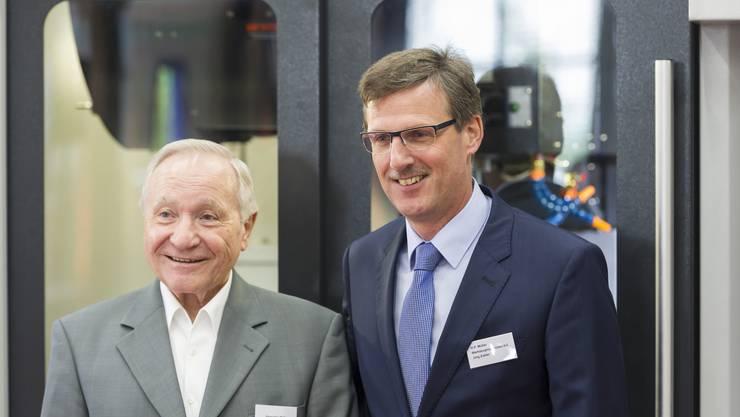 Inhaber Jörg Zubler (rechts) und Gründer Hans-Peter Müller.