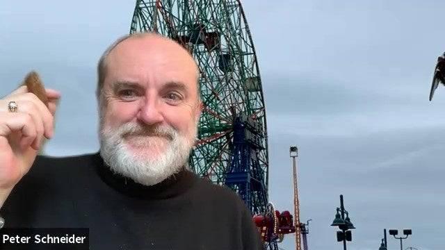 Der Psychoanalytiker Peter Schneider, 63.