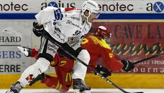 Der EHC Olten konnte in der vergangenen Saison alle vier Duelle gegen Sierre für sich entscheiden.