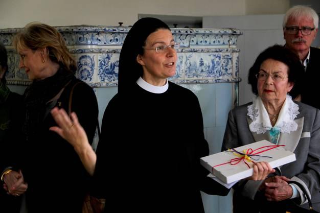 Priorin Irene hofft dass auch junge Menschen Zugang zu diesem Raum finden