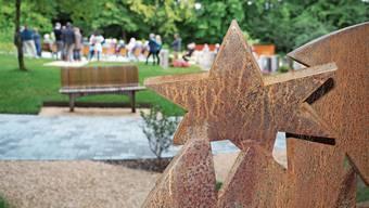 Der neugestaltete Friedhof wurde am Dienstag eingeweiht.