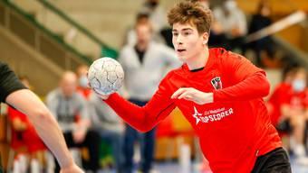 HSC-Spielmacher Manuel Zehnder steht vor seinem Debüt im Trikot des Schweizer Nationalteams.