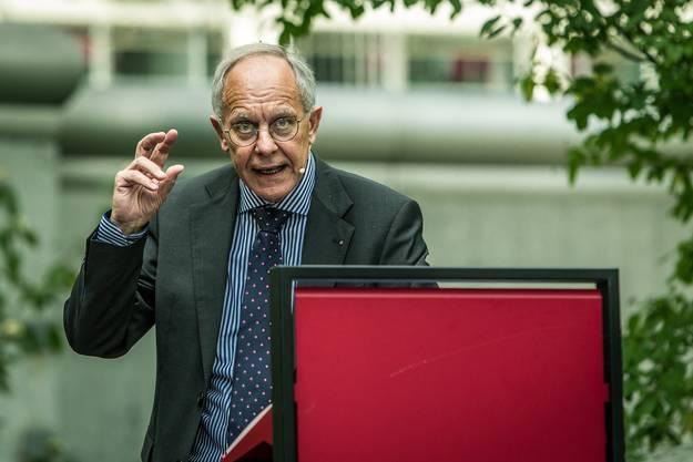 Im Bild: Josef Sachs, Chefarzt Forensik PDAG