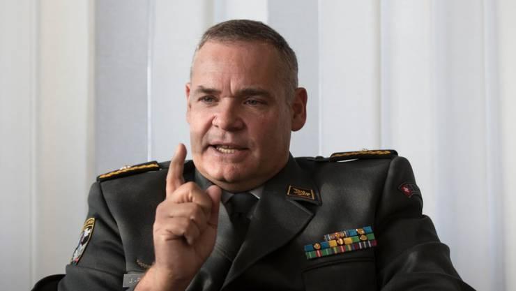 Divisionär Jean-Philippe Gaudin wird neuer Chef des Nachrichtendienstes des Bundes (NDB).