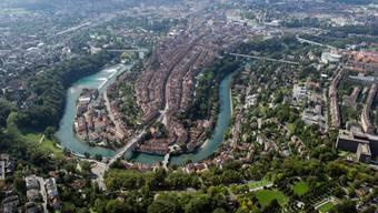 Die Berner Altstadt mit Aare