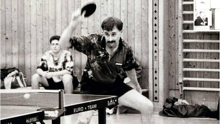 Er war schon Anfang der 80er-Jahre beim Turnier dabei.