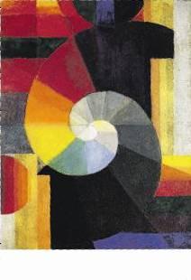Sie wählte das Bild «Begegnung» des Schweizer Künstlers Johannes Itten.