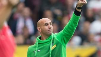 André Schubert führt Gladbach zum dritten Bundesliga-Sieg in Folge