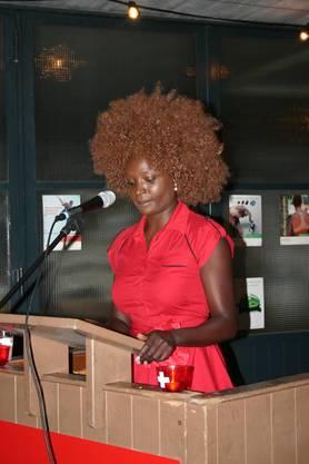 Yvonne Apiyo Brändle-Amolo sprach auch über den klugen Umgang mit Migration.