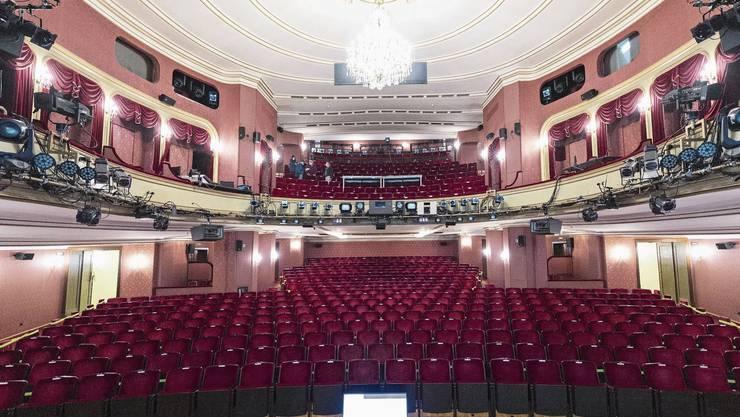 Ein historisches Prunkstück soll verschwinden: der Zuschauersaal im Schauspielhaus.