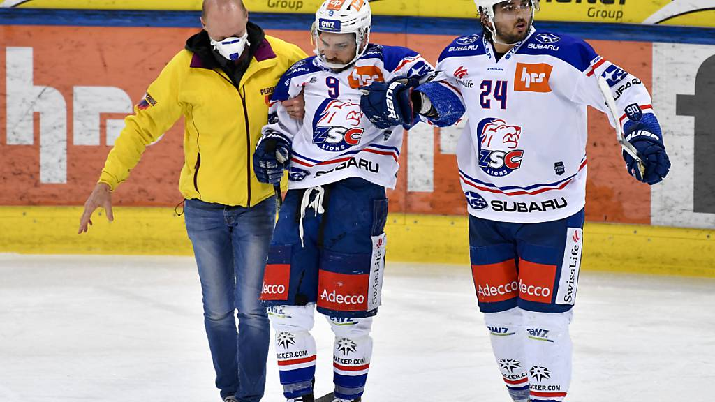 ZSC Lions mehrere Wochen ohne Roe