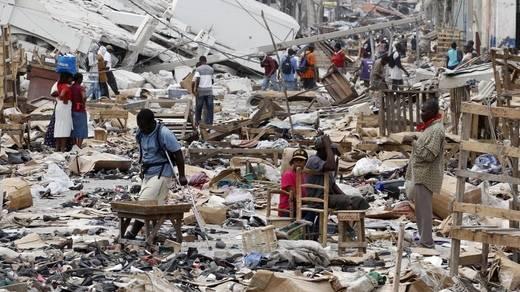 Naturkatastrophen-Schäden von 138 Milliarden Dollar