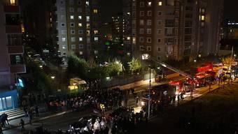 In Istanbul ist ein Militärhelikopter abgestürzt. Vier Soldaten kamen ums Leben.