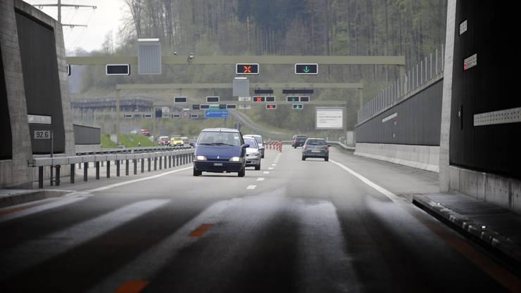 Tunnel auf der A5