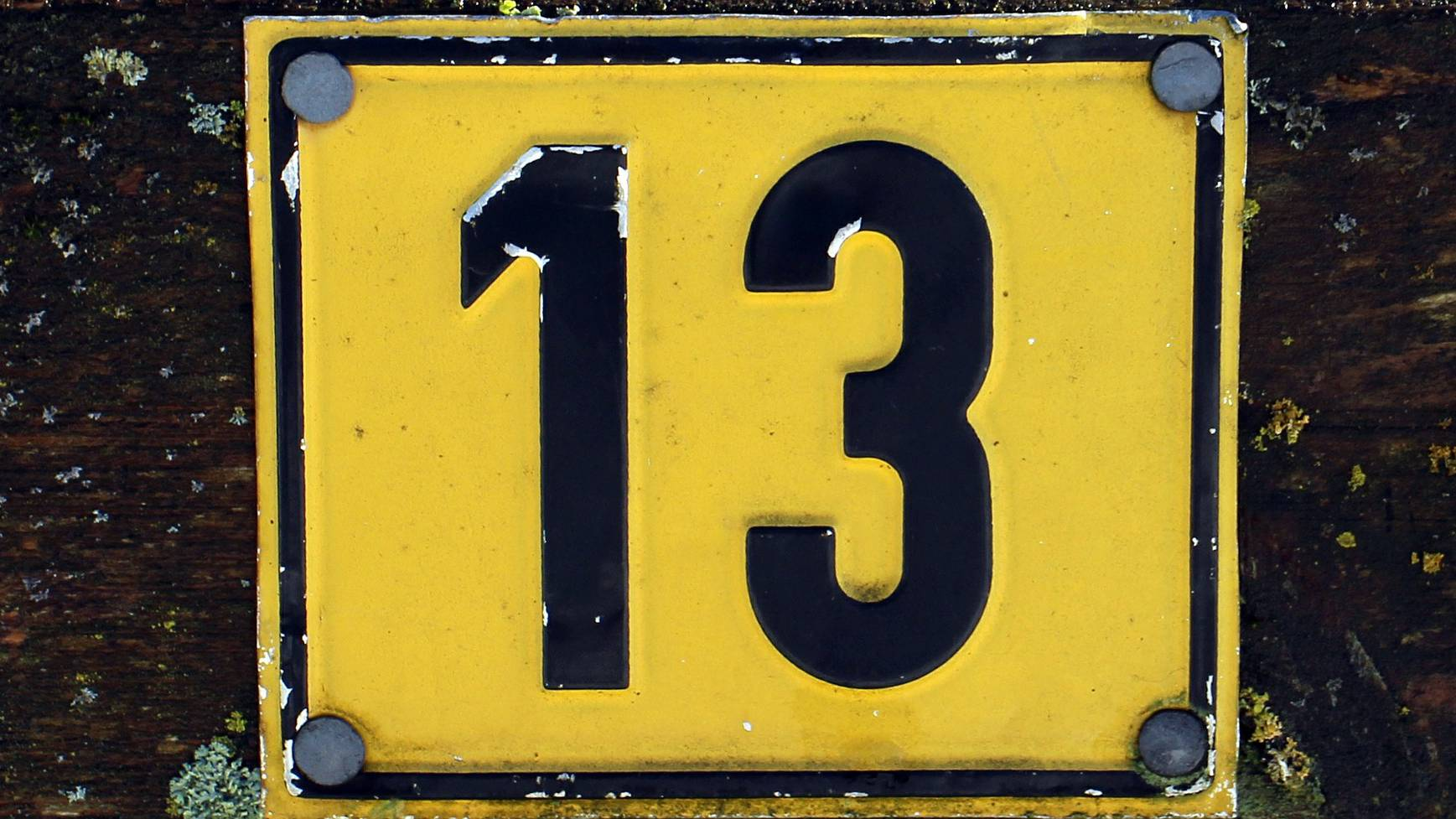 13 Unglückszahl Pech Aberglaube Hausnummer