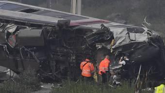 Zugunglück in Belgien